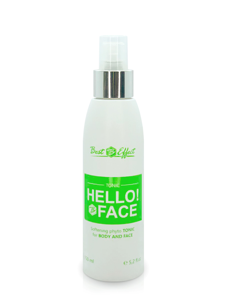 Hello!Face tonic water